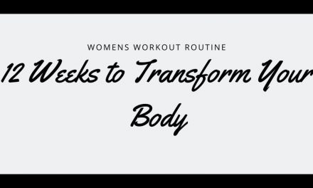 Womens Workout Routine – 12 Weeks to Transform Your Body