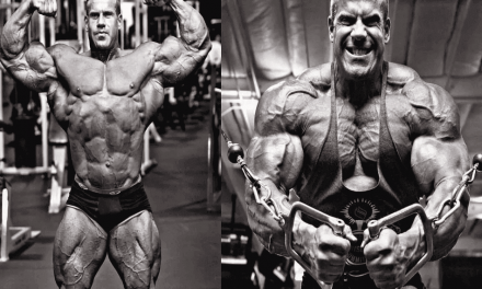 Jay Cutler Workout Routine for a Massive Mass & Strength