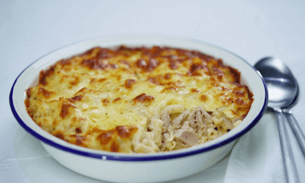Healthy Tuna Pasta Bake Recipe