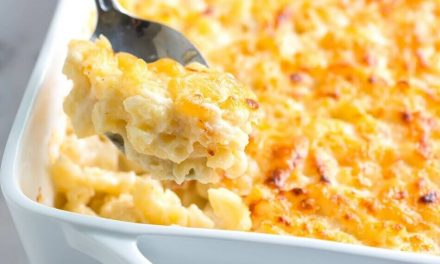 White Cheddar Mac & Cheese Recipe to Satisfy Your Cravings